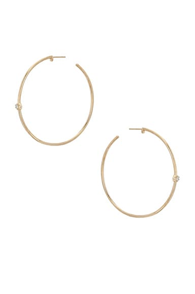 Rosette Hoops Carbon & Hyde