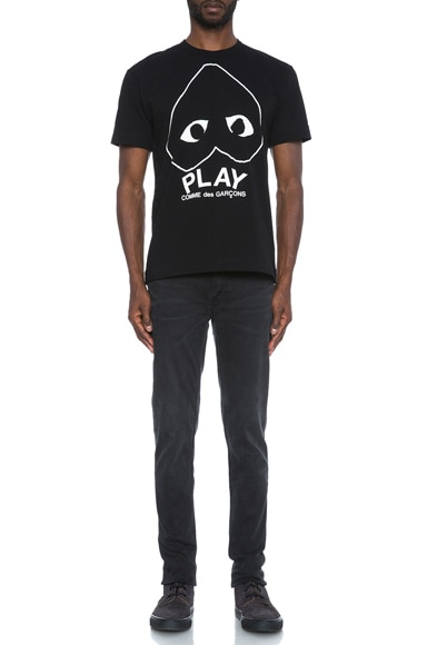 Play Emblem Cotton Tee