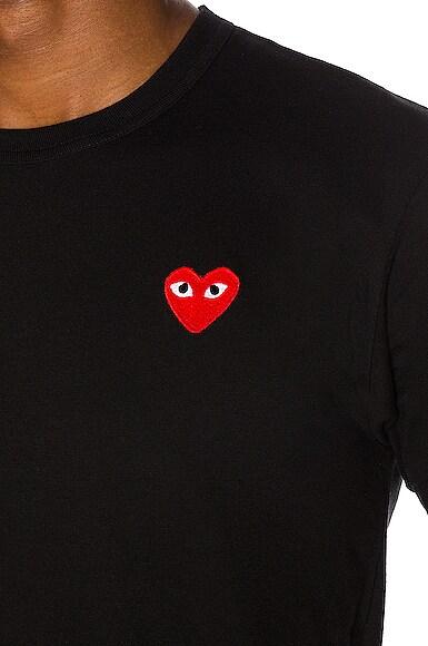 Red Heart Emblem Cotton Tee