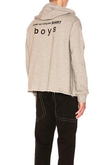 Boys Cotton Zip Hoodie