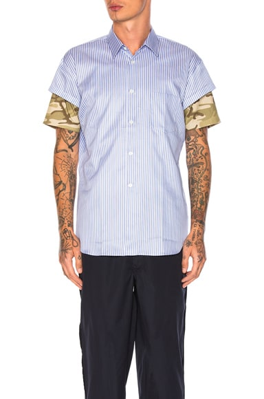 Yarn Dyed Cotton Stripe Shirt