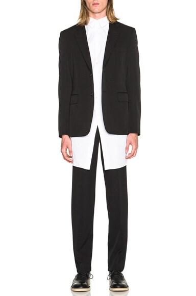 Wool Gabardine Trousers