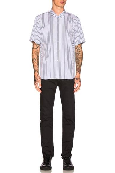 Cotton Broad Stripe Shirt