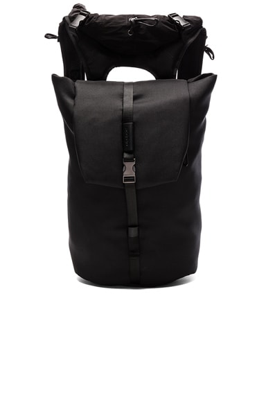 Cote & Ciel Tigris Eco Yarn Backpack in Black