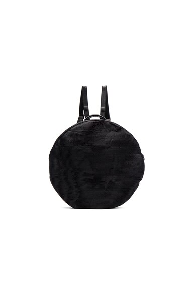 Cote & Ciel Furrow Nylon Moselle Backpack in Powder Black