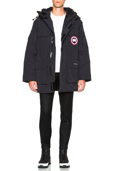 Canada Goose Expedition Poly-Blend Parka in Navy
