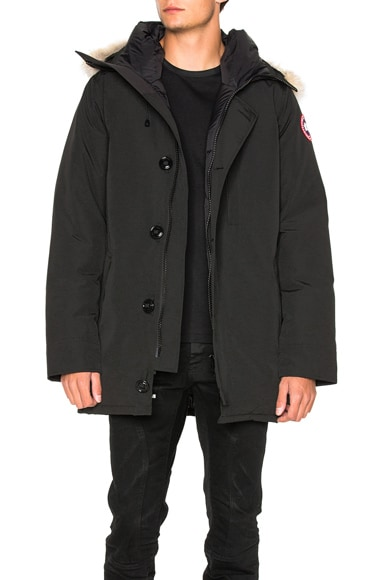 Canada Goose Chateau Parka in Black
