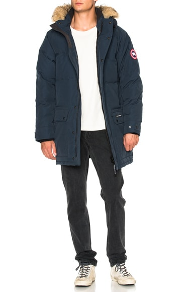 Emroy Parka With Coyote Fur