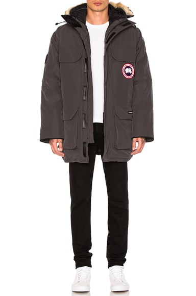 Canada Goose Expedition Poly-Blend Parka in Graphite