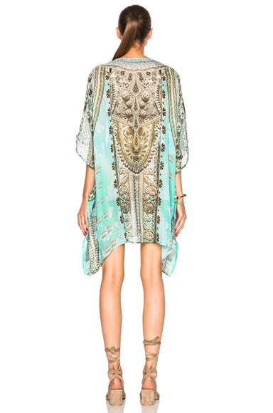 Mini Lace Up Caftan