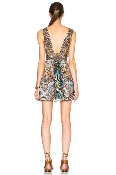Mini V Neck Dress