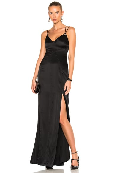 Cinq a Sept Ziva Gown in Black