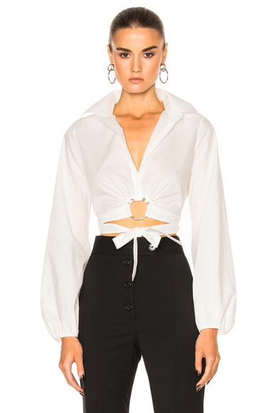 Cinq a Sept Trillian Top in White