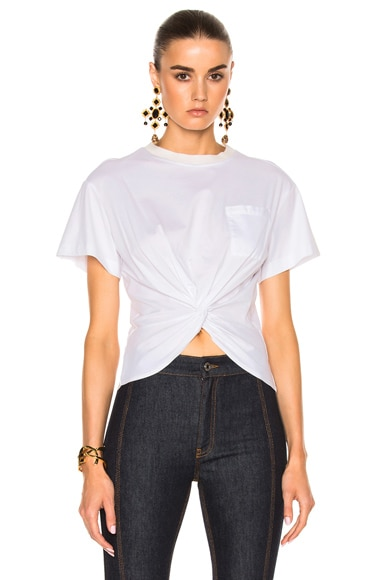 Cinq a Sept Shiloh Tee in Ivory