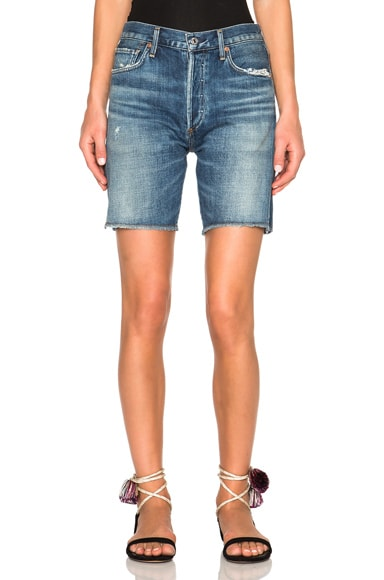 Citizens of Humanity Premium Vintage Liya Shorts in Fade Out
