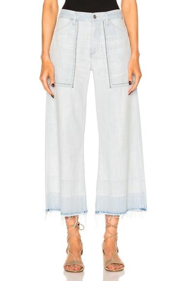 Melanie Wide Leg Crop