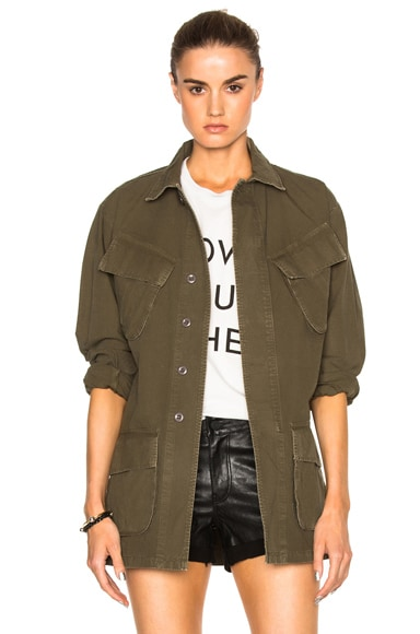 Citizens of Humanity Nadja Jacket in Army Green