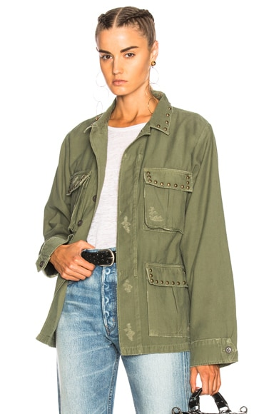 Kylie Military Jacket