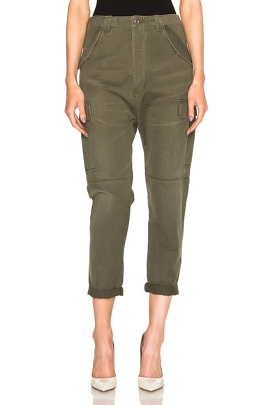 Citizens of Humanity Ronja Cargo Pants in Olive