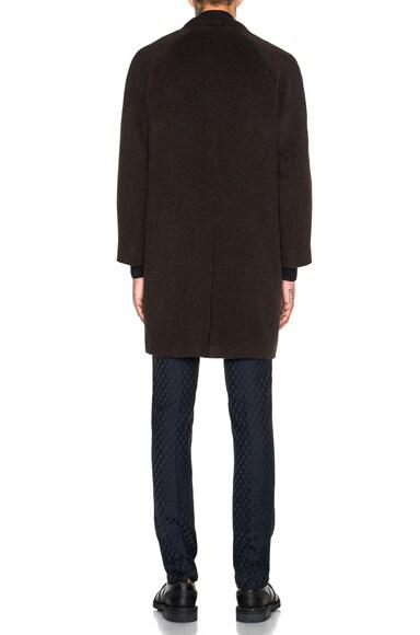 Wool Raglan Crombie Coat