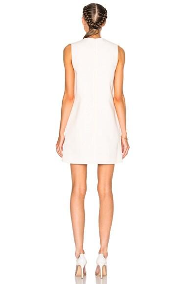Crack Motif Mini Dress