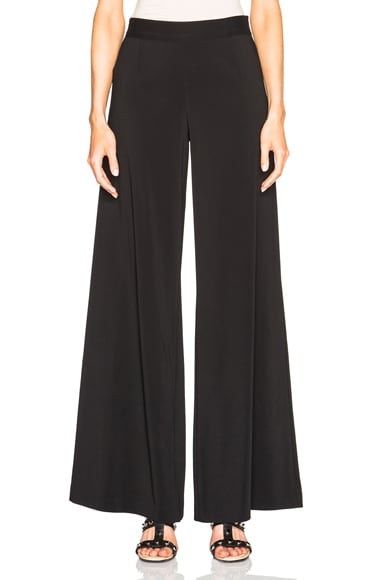 Christopher Kane Wide Leg Pants in Black