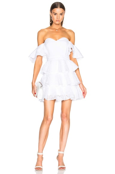 Irene Ruffle Mini Dress
