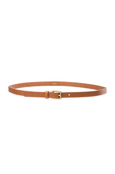 Chloe Mini Belt in Caramel