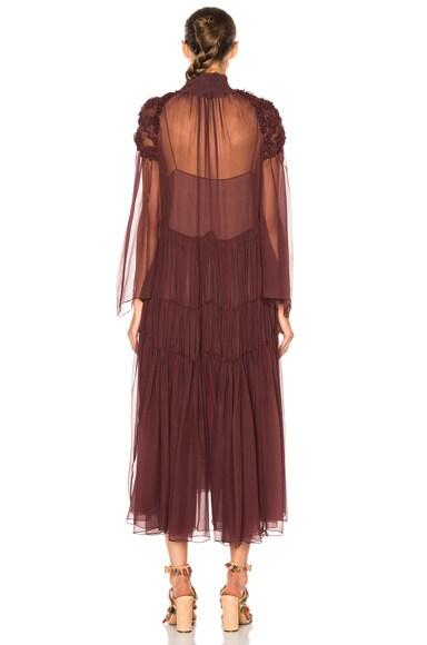 Silk Crepon Dress