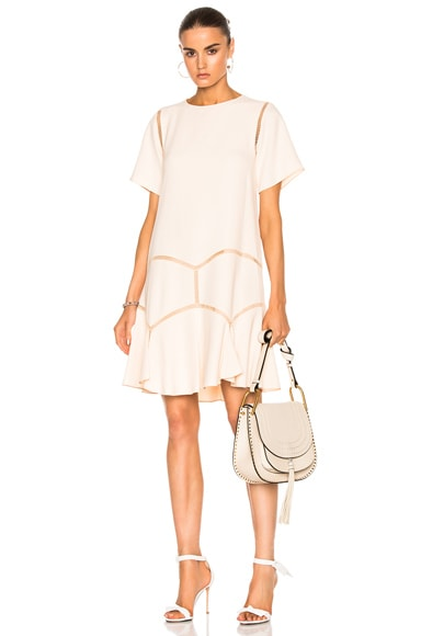 Chloe Light Cady Dress in Pinky Beige