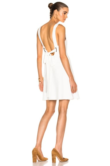 Chloe Light Cady Dress in Milk