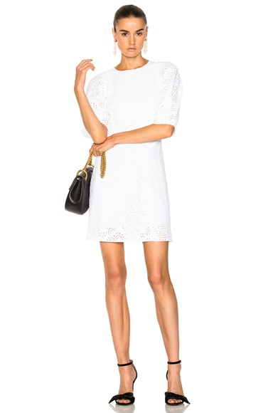 Broderie Anglaise Cady Mini Dress Chloe