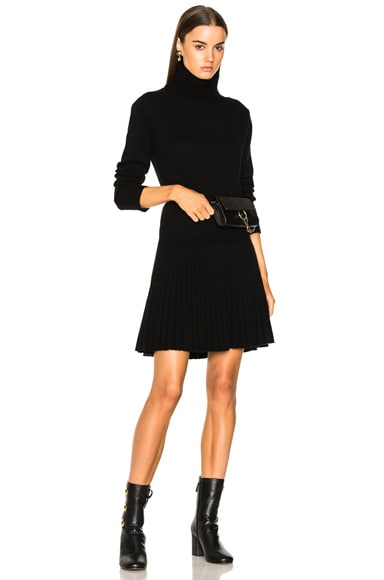 Iconic Cashmere Turtleneck Sweater Dress