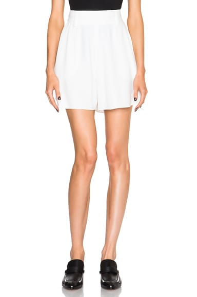 Chloe Light Cady Shorts in Milk