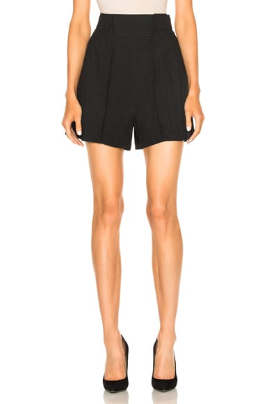 Chloe Light Cady Shorts in Black