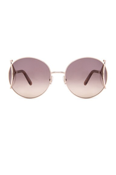 Chloe Jackson Sunglasses in Gold & Blonde Havana