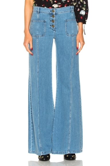 Stretch High Waisted Jeans