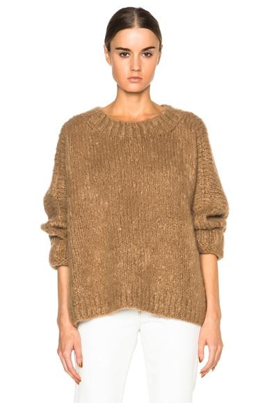 Chloe Oversized Knit in Camel