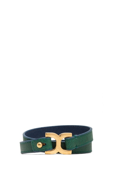 Marcie Leather Wrap Bracelet