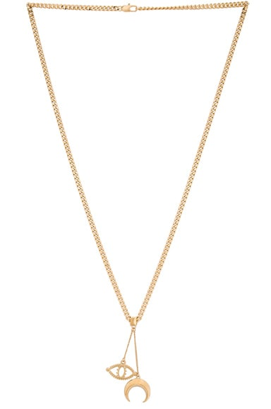 Izzy Long Pendant Necklace