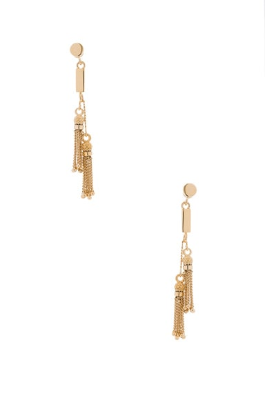 Chloe Lynn Earrings in Gold