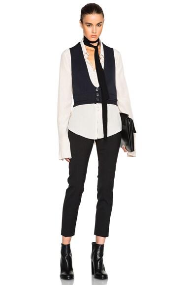 Wool Twill Tailoring Waistcoat