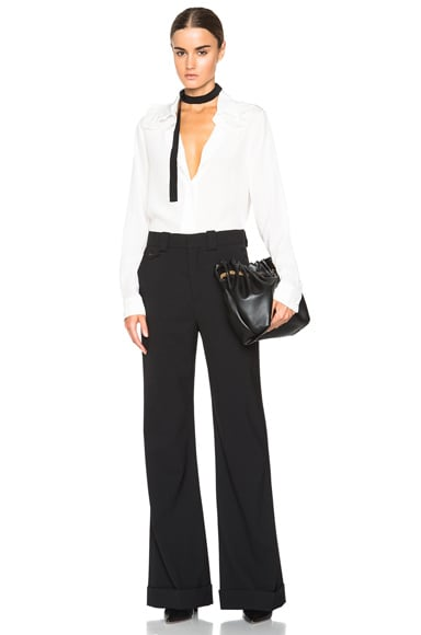 Stretch Wool Tailoring Trousers
