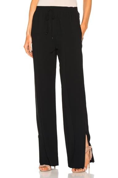Chloe Light Cady Pants in Black