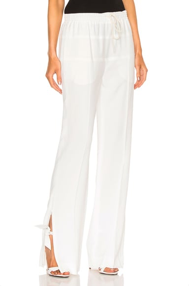 Chloe Light Cady Pants in Milk