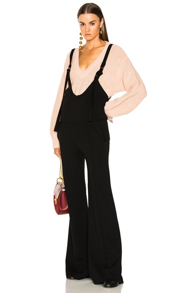 Fluid Knit Jumpsuit Chloe