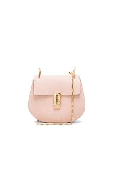 Chloe Drew Medium Shoulder Bag in Cement Pink