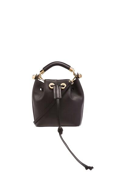 Chloe Small Gala Smooth Calfskin Bag in Black