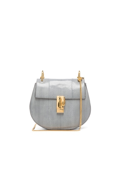 Chloe Ayers Small Drew Bag in Iron Grey