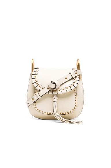 Chloe Small Hudson Bag in Lace White